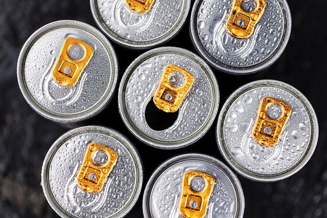 Tauryna to popularny składnik napojów energetycznych