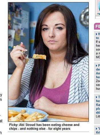 18-latka je tylko frytki i ser. Boi się warzyw i owoców!