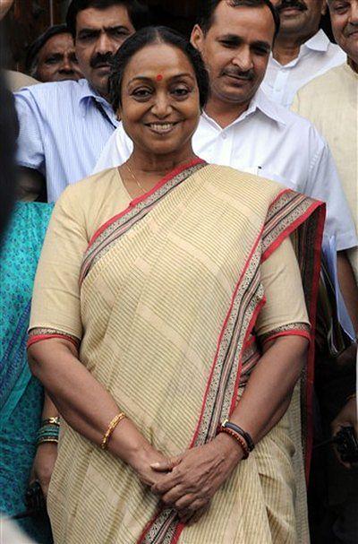 Pierwsza przewodnicząca w historii Indii