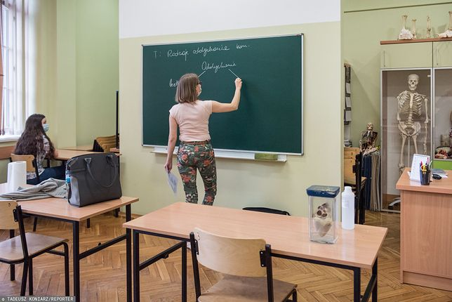 Raport OECD. Nauczyciele w Polsce jednymi z najgorzej zarabiających w Europie