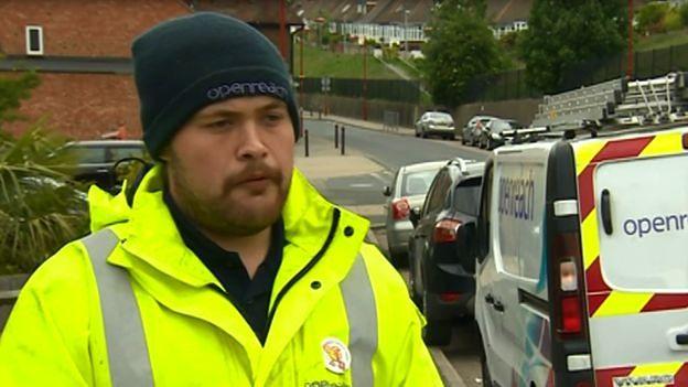 Aaron Asthon-Jones, fot. BBC News