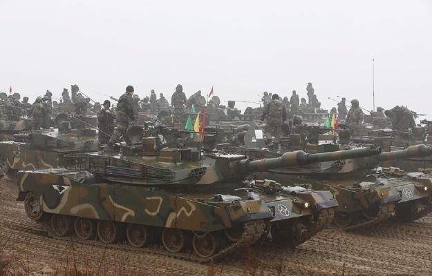 Armia Korei Płd. w stanie gotowości - ćwiczenia po próbie rakietowej Korei Płn.