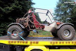 Kłobuck. Tragiczny finał, 43-latek przygnieciony przez własny pojazd
