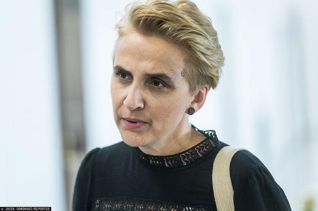 Joanna Lichocka i jej zachowanie w Sejmie. Joanna Scheuring-Wielgus komentuje