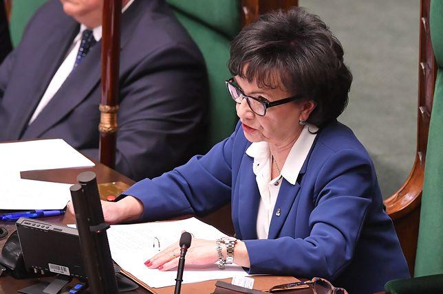 Marszałek Elżbieta Witek zdecydowała o anulowaniu głosowania z 21 listopada. Wielu posłów miało do niej o to pretensje