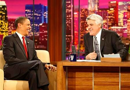 Barack Obama w ''The Tonight Show''