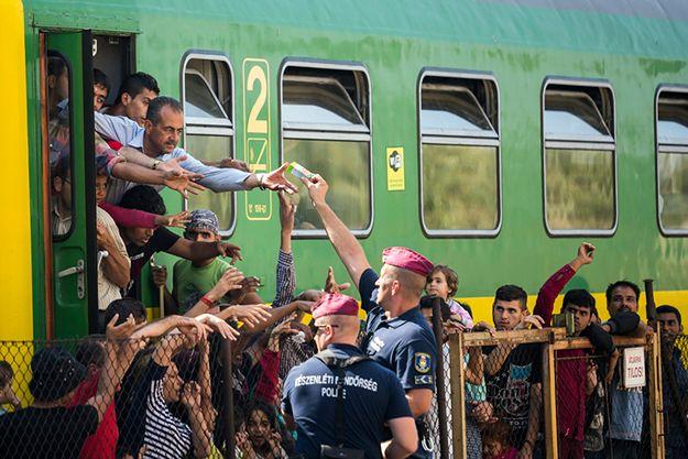 Imigrant z Pakistanu zmarł, uciekając z pociągu w węgierskim Bicske