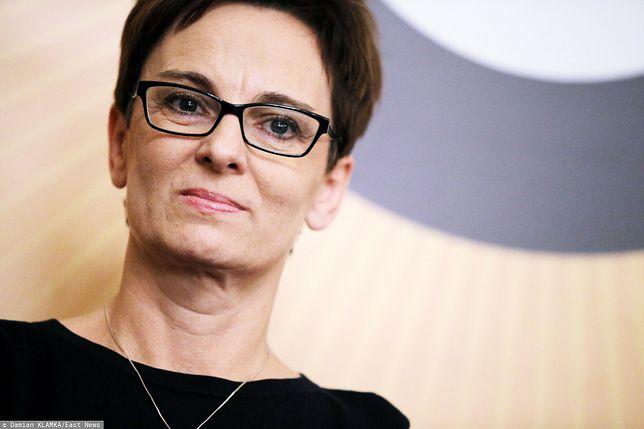 Profesor Inga Iwasiów brała udział w protestach w ramach Strajku Kobiet