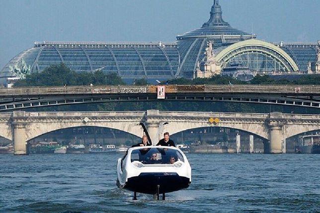 """""""Latająca"""" taksówka to kolejny projekt startupu, który tworzy poruszające się nad wodą łodzie."""