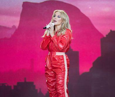 Kylie Minogue rozpłakała się podczas koncertu w Glastonbury
