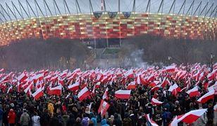 Święto Niepodległości. Ulicami Warszawy przejdą trzy duże marsze