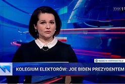 """Joe Biden prezydentem USA. Nawet """"Wiadomości"""" musiały podać informację"""