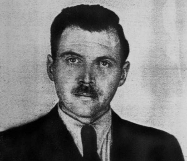 Josef Mengele w 1956 roku