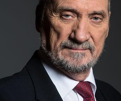 Antoni Macierewicz, szef podkomisji smoleńskiej.