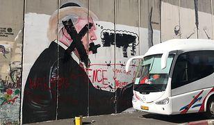 Mur na granicy palestyńsko-izraelskiej. Marcin Makowski / Archiwum prywatne