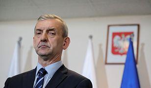 Szef ZNP, Sławomir Broniarz.