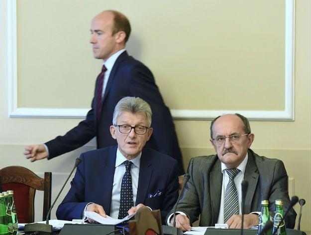 Koniec prac sejmowej komisji ws. sędziów TK oraz jawności oświadczeń sędziów
