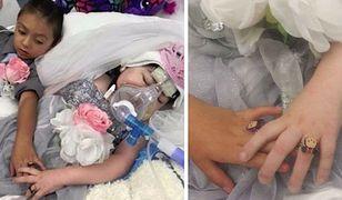 Rozdzierające serce zdjęcia ze ślubu... umierającej 5-latki
