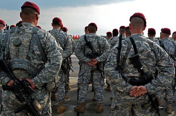 Amerykańscy żołnierze wysłani do Polski w kwietniu