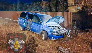 Groźny wypadek koło Radomia. Nocna akcja służb