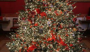 Świąteczne dekoracje w Białym Domu. Zapierają dech w piersiach