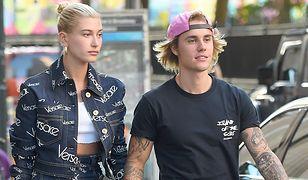 Justin Bieber z narzeczoną Hailey Baldwin