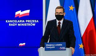 Premier Mateusz Morawiecki zamraża do końca roku nagrody i trzynastki