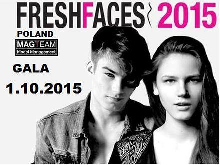 Prezentacja finalistek konkursu Fresh Faces Poland 2015