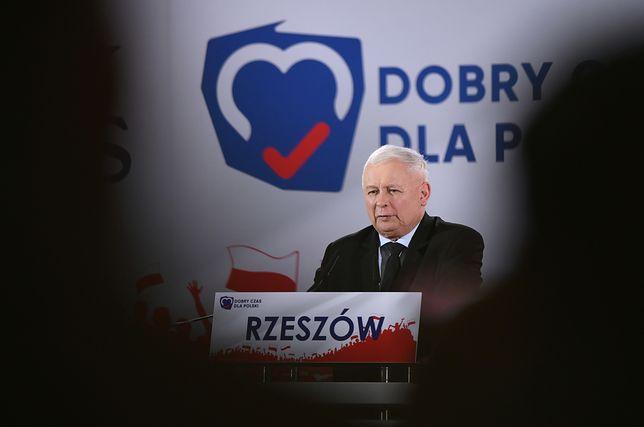 Jarosław Kaczyński w Rzeszowie: jeżeli chcemy mieć normalne związki, musimy te wybory wygrać