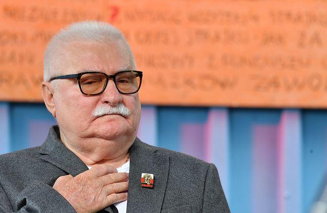 Lech Wałęsa odpowiada na zarzuty Sławomira Cenckiewicza