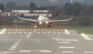 Dramatyczne lądowanie w Birmingham. Za sterami samolotu Polak