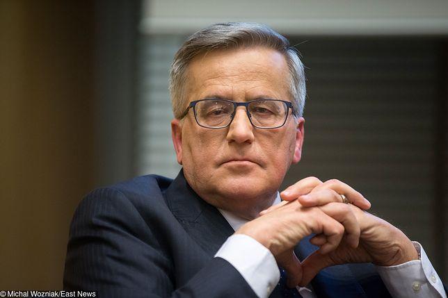 Bronisław Komorowski komentuje sprawę Podleśnej