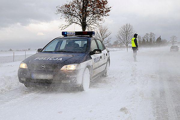 Policja: w weekend z wychłodzenia zmarły dwie osoby
