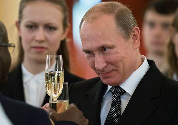 Władimir Putin na spotkaniu z ambasadorami w Moskwie