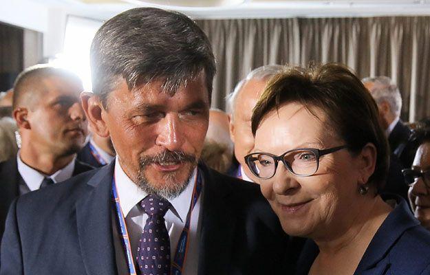 Michał Mazowiecki i premier Ewa Kopacz