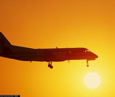 Katowice. Awaryjne lądowanie samolotu na lotnisku
