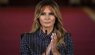 Melania Trump żegna się z Białym Domem