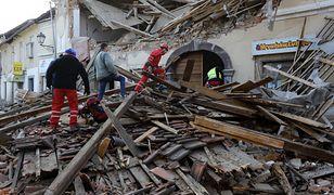Chorwacja. Silne trzęsienie ziemi: wzrósł bilans ofiar