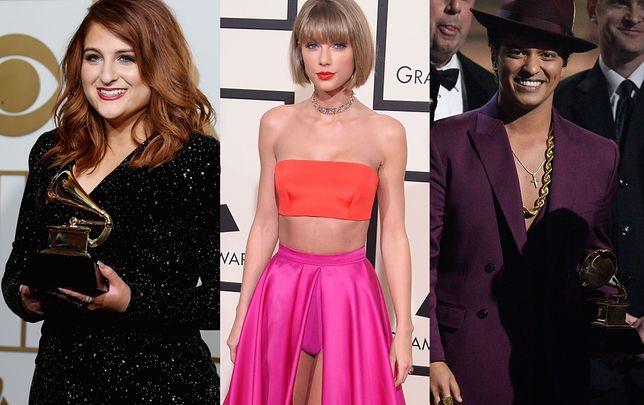 Meghan Trainor, Taylor Swift, Bruno Mars