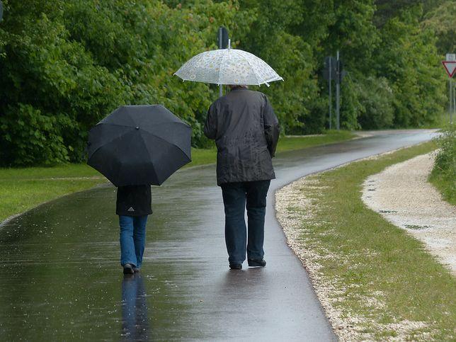 W środę będzie padało niemal w całej Polsce.