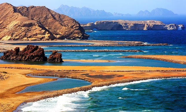 Oman to muzłumańskie państwo zlokalizowane na południu Półwyspu Arabskiego