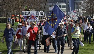Część Brytyjczyków domaga się drugiego referendum ws. opuszczenia Unii Europejskiej