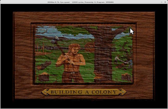 Budujemy pierwszą kolonię w nowym świecie