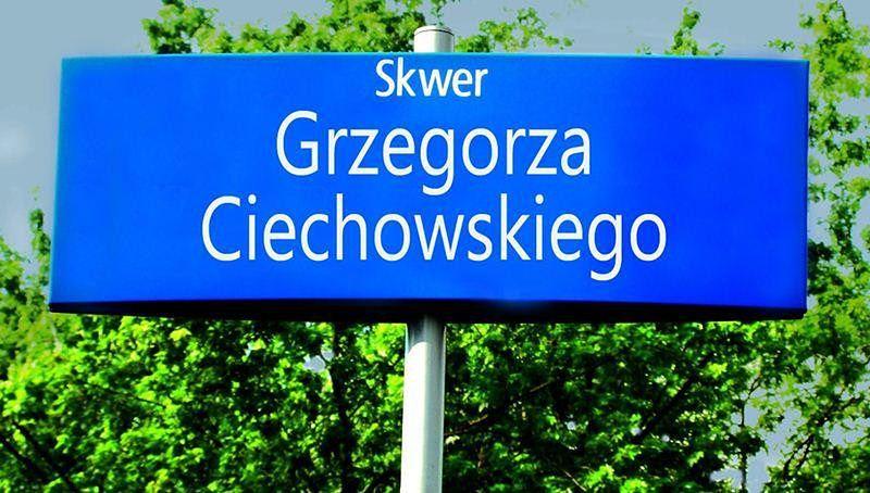Będzie skwer im. Grzegorza Ciechowskiego?