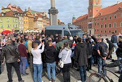 Warszawa. Policja podsumowujesobotnie protesty. Mandaty i wnioski do sądu