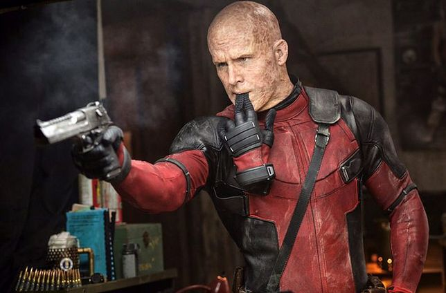 Ryan Reynolds jako Deadpool, fot. Imperial - Cinepix