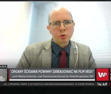 """Szef Państwowej Komisji ds. Pedofilii widział film Vegi. """"Potworne"""""""