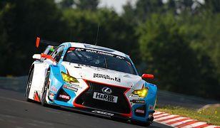 Lexus RC F GT3 zwycięża na Nurburgringu