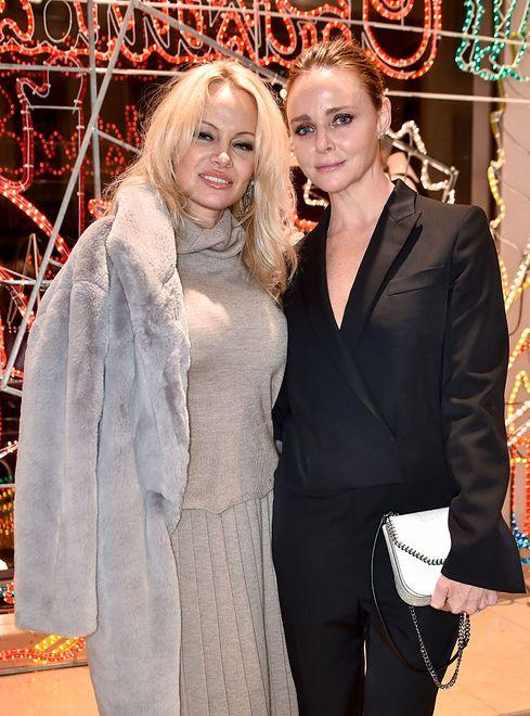 Pamela Anderson na imprezie u Stelli McCartney