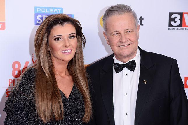 Apoloniusz Tajner i jego partnerka Izabela Podolec zostaną rodzicami